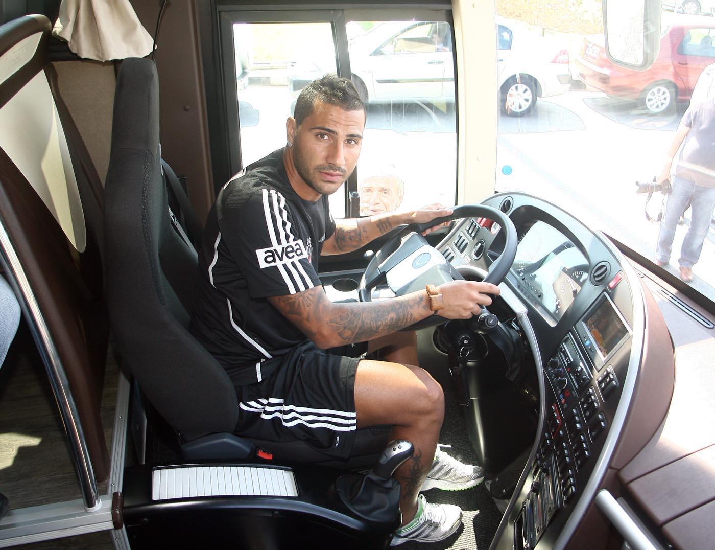 Beşiktaş'ın midesini bulandıran otobüs
