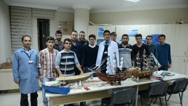 Konya'da İlk Kez Açılan Model Gemi Kursuna Yoğun İlgi