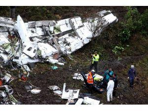 Kolombiya'daki uçak kazası