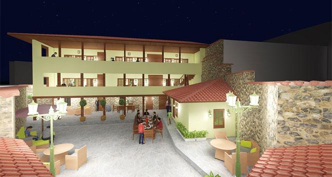 Manisa'da 3 asırlık yapı turizme kazandırılıyor