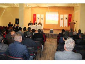 Avanos'ta değerlendirme toplantısı yapıldı