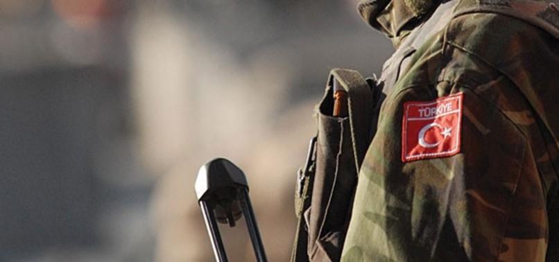 Şırnak'ta 1 asker şehit.