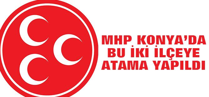MHP Konya'da Yeni Atamalar