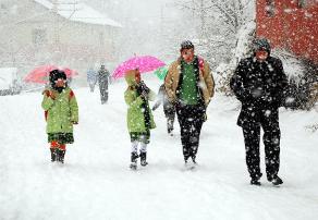 Bingöl'de Eğitime Kar Engeli! Okullar 1 Gün Tatil