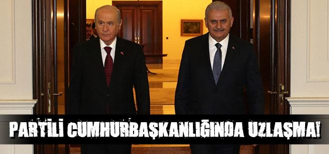 Partili cumhurbaşkanlığında uzlaşma!