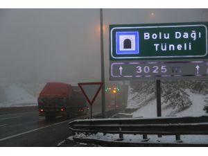 Bolu Dağı'nda sis
