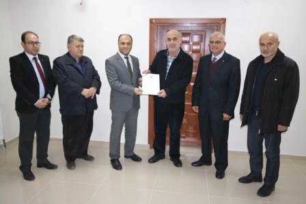 Beyşehir OSB'de ilk tapu sevinci