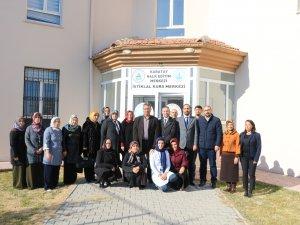 Hançerli'den Halk Eğitim Merkezi öğretmenlerine ziyaret
