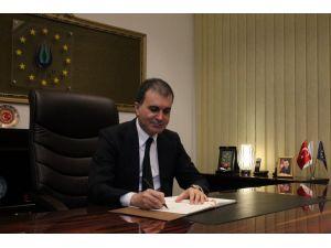 AB Bakanı ve Başmüzakereci Çelik'ten AB'ye tepki