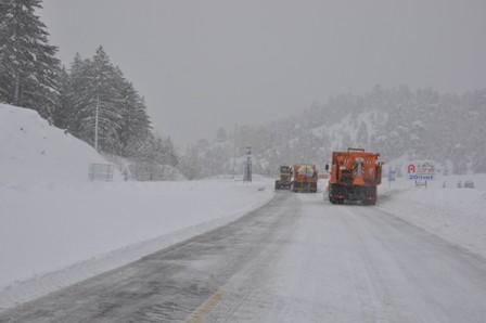 Antalya yolunda kar yağışı bekleniyor