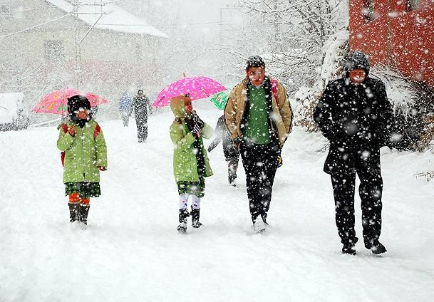 Konya'da bu ilçelerde kar tatili devam ediyor