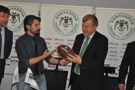 Konyaspor'dan Amerikan Futbolu Atağı