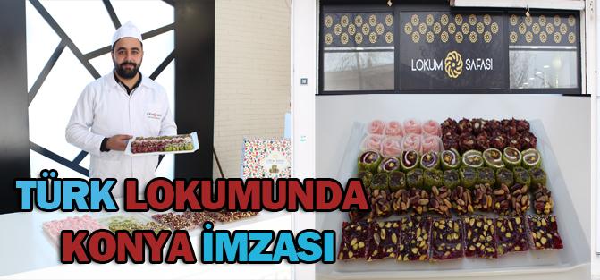 Türk Lokumunda Konya İmzası