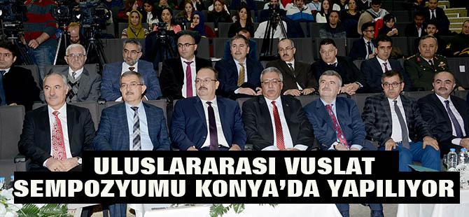 Konya'da Uluslararası Vuslat Sempozyumu Yapılıyor