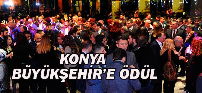Konya Büyükşehir'e ödül