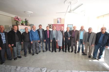 Başkan Özaltun, MHP İlçe Teşkilatını ziyaret etti