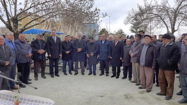 Adil Camisi temel atma töreni yapıldı