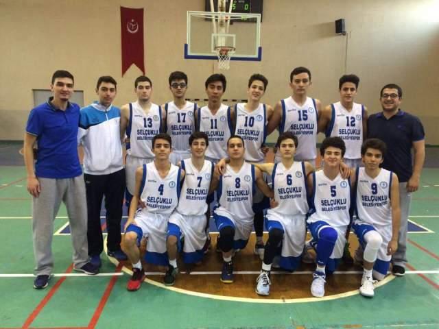 Selçuklu Basketbol U16 takımı finallerde