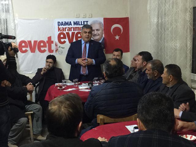 Ereğli'de referandum çalışmaları tam gaz