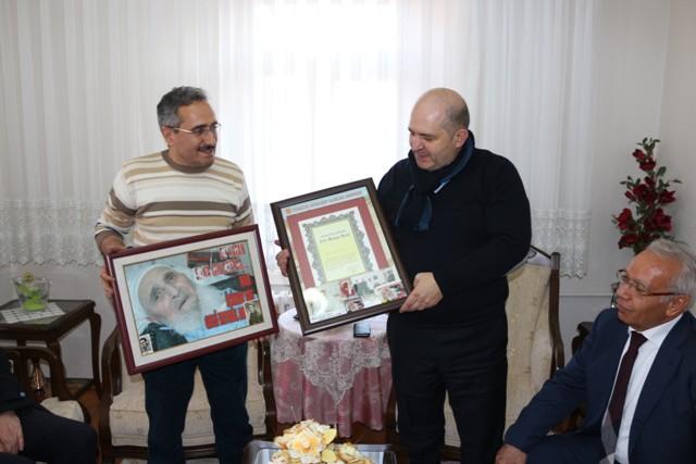 Baloğlu'ndan şehit ve gazi ailelerine ziyaret