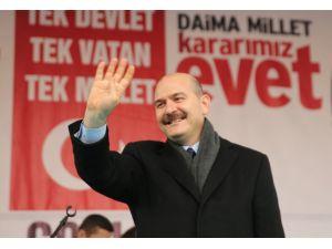 İçişleri Bakanı Soylu, Tekirdağ'da