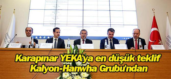 Karapınar YEKA'ya en düşük teklif Kalyon-Hanwha Grubu'ndan