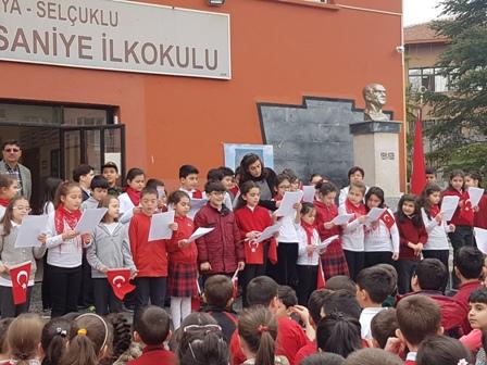 Öğrencilerden Çanakkale programı