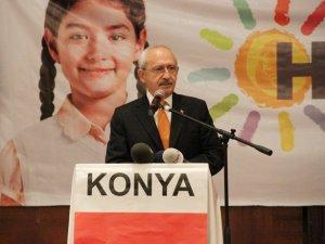 Kılıçdaroğlu Konya'da STK'larla buluştu