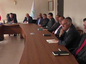 Beyşehir'in güvenliği masaya yatırıldı