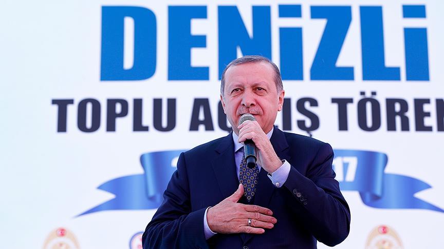 Cumhurbaşkanı Erdoğan: Partim beni aday yaparsa o zaman beraber yürürüz