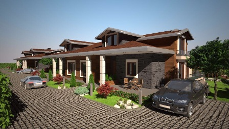 Meram Park villalarında  Hayat Başlıyor