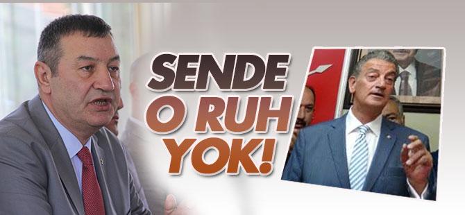 MHP İzmir İl Başkanı Necat Karataş'tan Hüsnü Bozkur'ta: Sende o ruh yok!