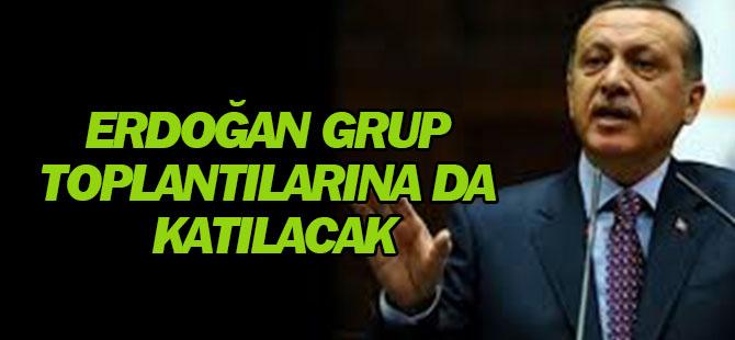 Erdoğan, AK Parti Genel Başkanı Olduktan Sonra Grup Toplantılarına da Katılacak