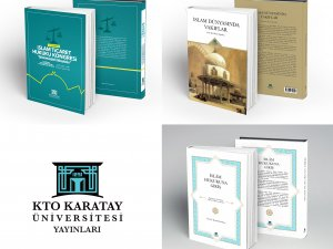 KTO Karatay Üniversitesi'nden İslam dini alanında üç prestij eser daha