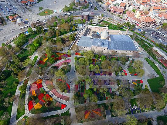 'Konya'da 'lale mevsimi' yaşanıyor'