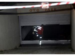 GÜNCELLEME - Adana'da kapalı otoparkta yangın