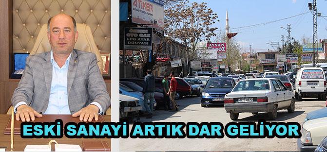 Konya'nın merkezinde kalan sanayi siteleri  Büyüyen sorunlara çözüm istiyor!