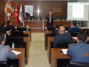 MEVKA, Karaman'da  ranel düzenledi