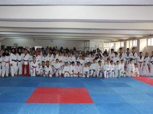 Taekwondo Poomse İl birinciliğine yoğun katılım