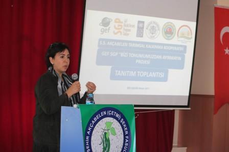 """Beyşehir'de """"Bizi tohumumuzdan ayırmayın"""" projesi tanıtıldı"""