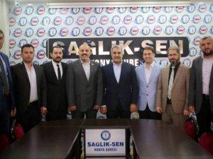 AK Parti'den Sağlık-Sen'e teşekkür ziyareti