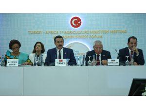 Türkiye-Afrika 1. Tarım Bakanları Toplantısı ve Tarım İş Forumu