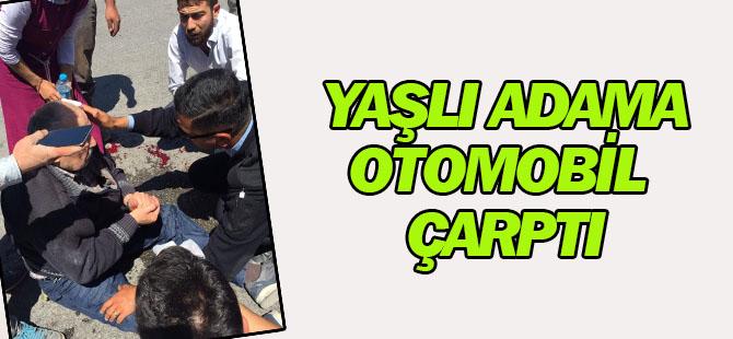 Konya'da yaşlı adama otomobil çarptı
