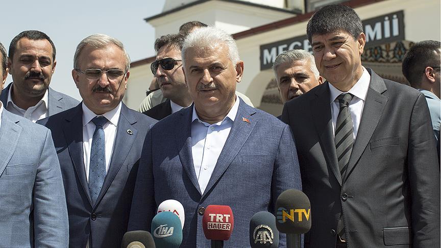 Başbakan Yıldırım: 2 Mayıs'ta Cumhurbaşkanımızın partiye üyeliği başlamış olacak