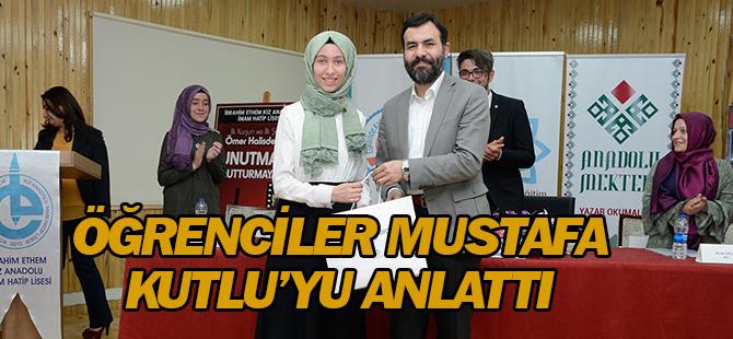 Öğrenciler, Mustafa Kutlu'yu anlattı