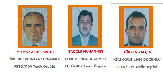 FETÖ'nün Konya Barosu imamları aranan terörist listesinde