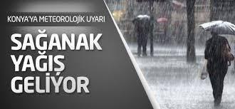 Meteoroji'den Konya'ya yağış müjdesi