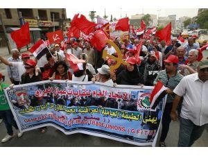 Irak'ta 1 Mayıs kutlamaları