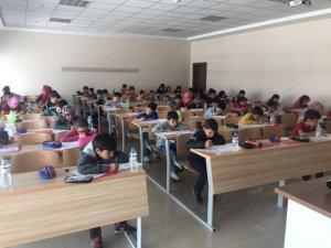 Açı Koleji sınavına büyük ilgi