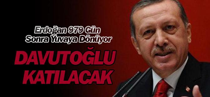 AK Parti'de Tarihi Gün! Erdoğan 979 Gün Sonra Yuvaya Dönüyor